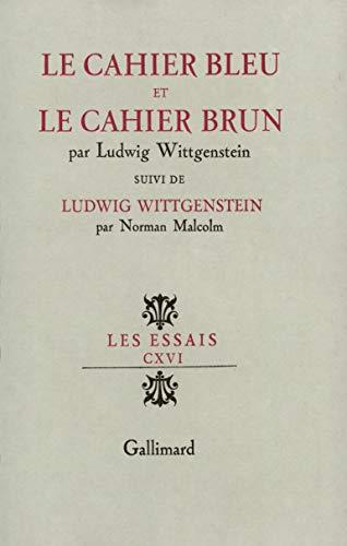 9782070266913: Le Cahier bleu et le Cahier brun