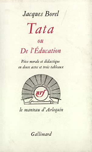 9782070268382: Tata ou de l'�ducation