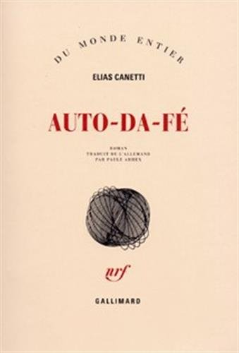 9782070268832: Auto-da-fé (Du monde entier)