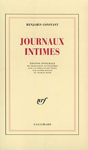 9782070269211: Journaux intimes (Blanche)