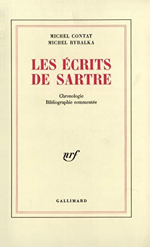 Les Écrits de Sartre - Chronologie, bibliographie commentée [Feb 20, 1970] Contat, ...