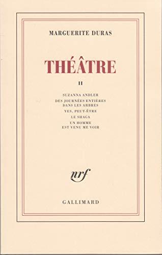 Théâtre, tome 2: Duras, Marguerite