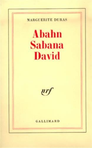 9782070269655: Abahn Sabana David (French Edition)