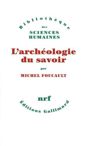 9782070269990: L'Arch�ologie du savoir