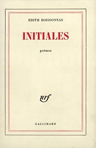 Initiales: Edith Boissonnas