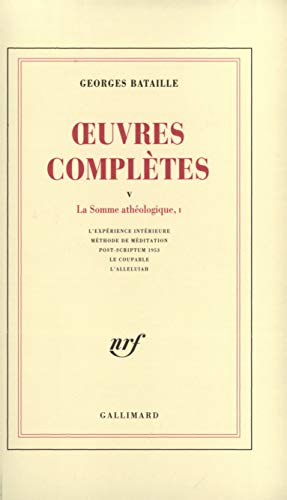 9782070278800: Oeuvres Completes: v.5 (Vol 5) (French Edition)