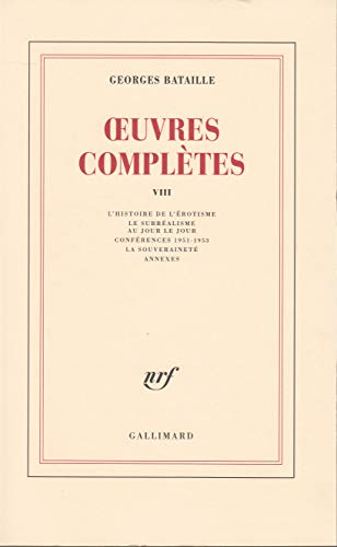 9782070278831: Oeuvres complètes, tome 8