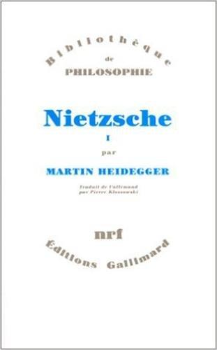 9782070278978: Nietzsche (Tome 1) (Bibliothèque de philosophie)