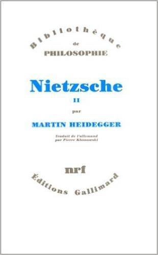 Nietzsche: Heidegger, Martin