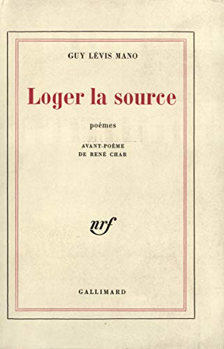 LOGER LA SOURCE: LEVIS MANO, GUY