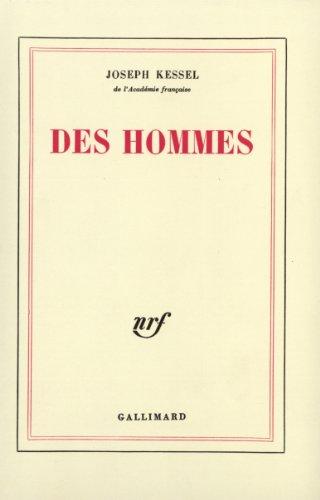 9782070281848: Des hommes
