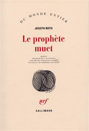 9782070282180: Le Proph�te muet