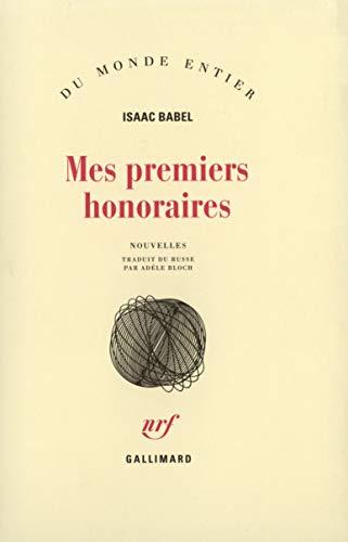 9782070282555: Mes premiers honoraires