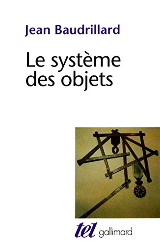 9782070283866: Le Système des objets
