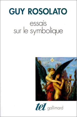 9782070285921: Essais sur le symbolique