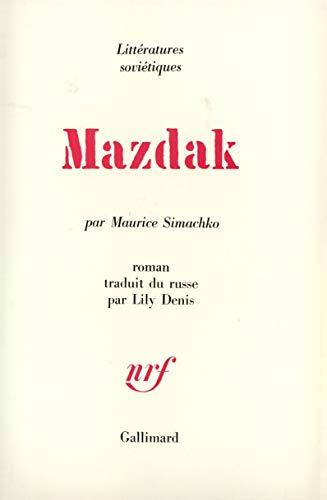9782070287888: Mazdak