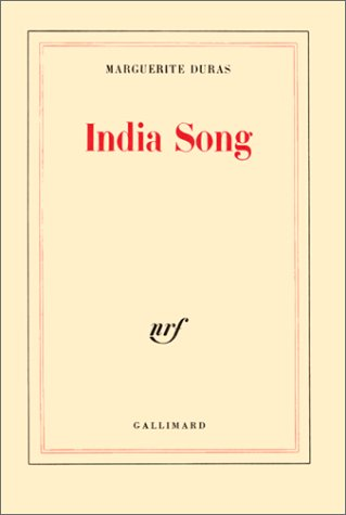 9782070289233: India Song (French Edition)