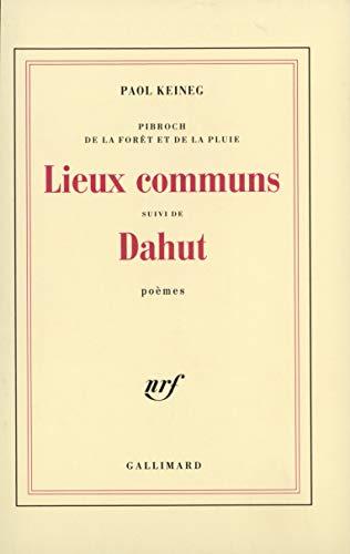 9782070290512: Lieux communs / dahut (French Edition)