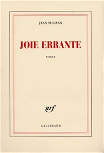 9782070290598: Joie errante (French Edition)