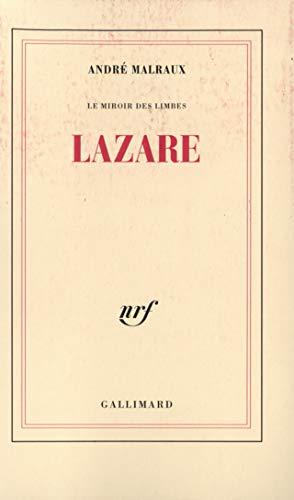 9782070291489: Lazare, Le Miroir des limbes