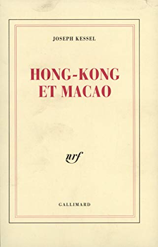 9782070292455: Hong Kong et Macao