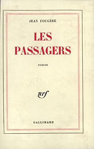 Les passagers (French Edition): Fougà re