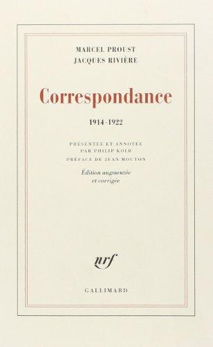 9782070294206: Correspondance: (1914-1922) (Blanche)