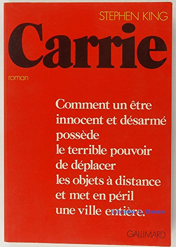 9782070294305: Carrie
