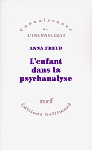 L'enfant dans la psychanalyse.: Freud,Anna.