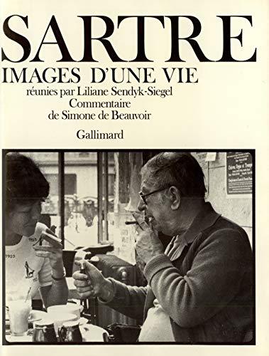 9782070297955: Sartre : Images d'une vie