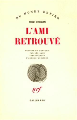 9782070299164: L'Ami retrouvé