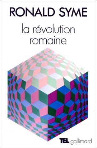 9782070299522: La révolution romaine (Tel)