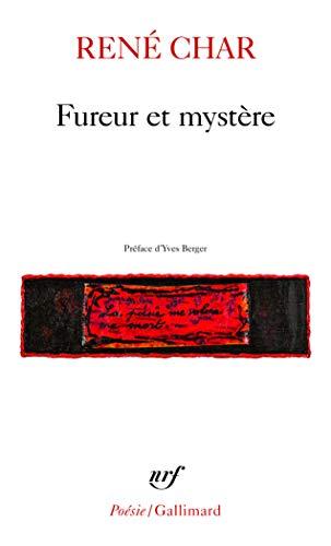 9782070300655: Fureur et Mystère