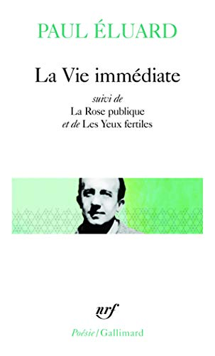 9782070300969: Vie Immediate (Pobesie) (English and French Edition)