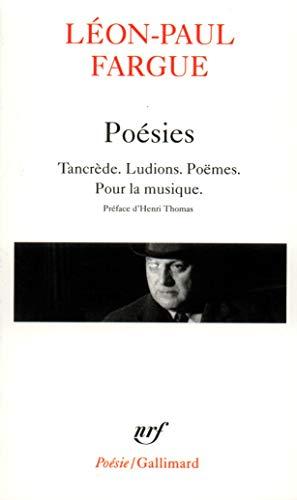 POÉSIES: FARGUE LÉON-PAUL