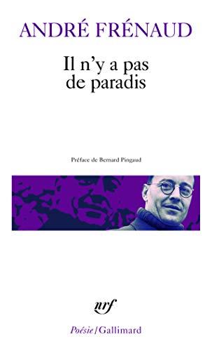9782070301126 Il Ny A Pas De Paradis Poèmes 1943 1960