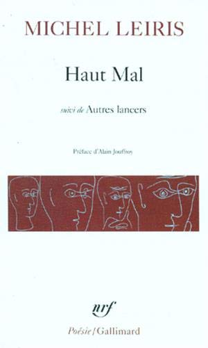 9782070301669: Haut Mal Autre Lancers (Collection Pobesie) (English and French Edition)