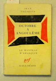Octobre a Angouleme: Thenevin, Jean