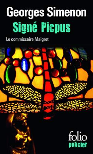 Signé Picpus: Une enquête du commissaire Maigret: Georges Simenon