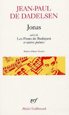 9782070307821: Jonas Les Ponts de Buda (Poesie/Gallimard) (French Edition)