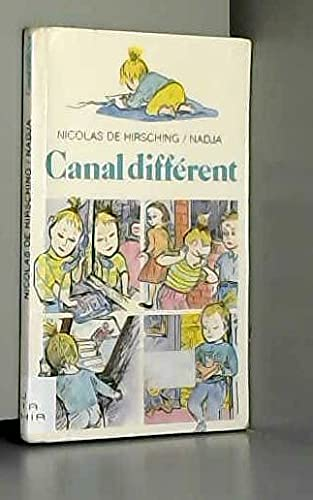 9782070311415: Canal différent (Collection Folio cadet) (French Edition)