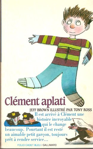 9782070311965: Clément aplati (Folio Cadet premiers romans)