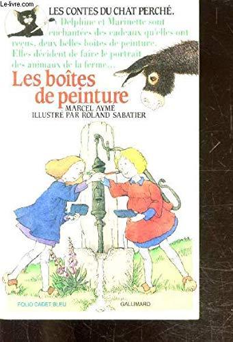 9782070311996: Les Contes du chat perché, N° 3 : Les Boîtes de peinture