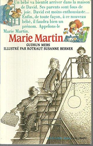 9782070312030: Marie Martin