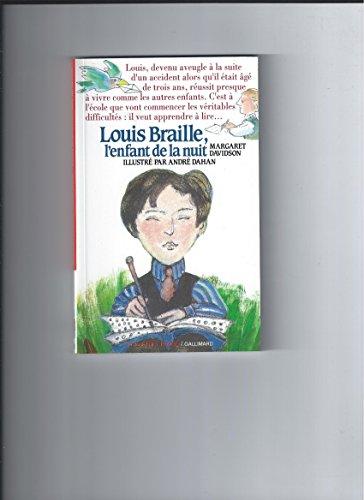 9782070312252: Louis Braille : L'enfant de la nuit (Folio Cadet premiers romans)