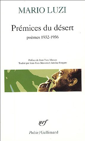 9782070313655: Premices Du Desert (Poesie/Gallimard) (French Edition)