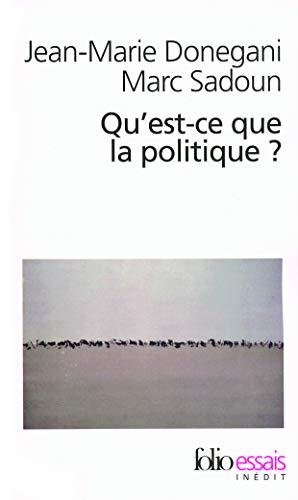 9782070316304: Qu'est-ce que la politique ?
