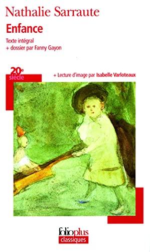 9782070316960: Enfance Sarraute (Folio Plus Classique) (French Edition)