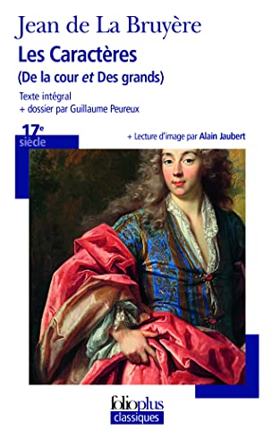 9782070317356: Caracteres Cour Grands (Folio Plus Classique) (English and French Edition)