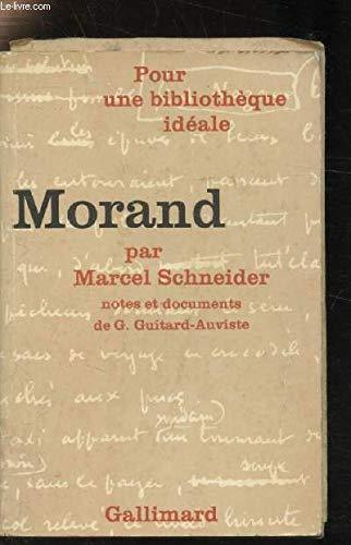 9782070317943: Morand